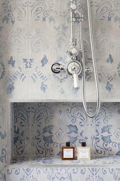 Gorgeous blue tile