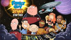 STAR TREK:PRIMER CONTACTO  Blog: Family Guy quests for stuff on the Enterprise-DThe...
