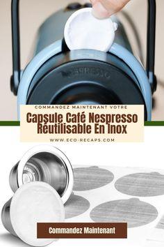 Eco-Recaps La capsule à café que vous ne jetterez jamais ! Economisez sur votre consommation de capsule à café Nespresso et réduisez vos déchets maintenant