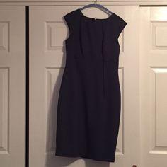 SOLD.Blue Calvin Klein Dress Blue Calvin Klein dress wear to work , church , dinner , wedding ... Calvin Klein Dresses