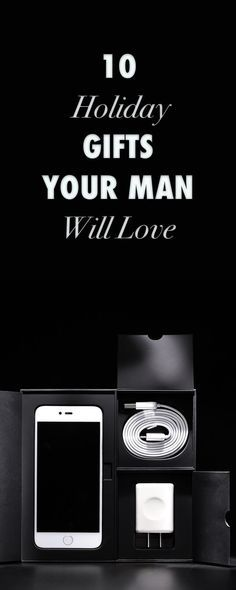 9eb6ade7f69f 10 Great Holiday Gift Ideas for the Men in Your Life