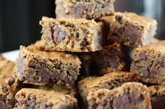 """Cappuccino Brownies // """"Now, we use the term 'brownie' very loosely here. It's more like coffee-scented fudge."""" (At some point I should probably just start pinning fudge recipes already.)"""