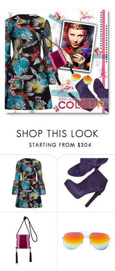 """Declare yourself in colour"" by eilselrenrag ❤ liked on Polyvore featuring Mary Katrantzou, Alexander McQueen, Chanel and Philosophy di Lorenzo Serafini"