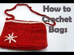 How to crochet a Bag - Ana Diy Crafts