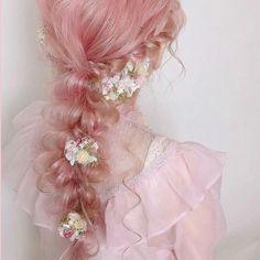 10 Amazing mermaid hair colour ideas – My hair and beauty Aesthetic Hair, Pink Aesthetic, Aesthetic Makeup, Aesthetic Vintage, Pelo Multicolor, Hair Reference, Mermaid Hair, Dream Hair, Pretty Hairstyles