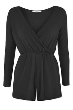 **Wrap Front Playsuit by Glamorous