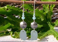Out Of The Blue Sea Glass Jewelry is handmade with authentic sea glass that was found on the beach. Lisl's family is from Mayaguez, Puerto Rico.
