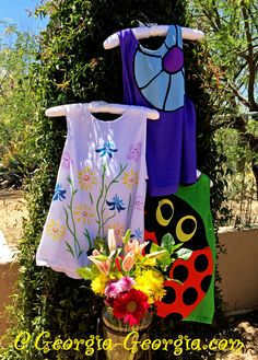 Happy May Day! Happy First of May! Happy First Monday in May!May Flowers, Yay! @ Georgia-Georgia.com ………. #May #MayDay #MayFlowers #FirstMondayinMay #AprilShowers #Spring #Blouses #Tshirts #Bugs #ladybugs #LadyBeetles #Flowers #SpringFlowers #blooms