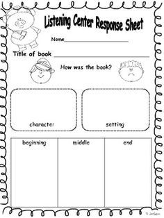 daily 5 ideas for read to someone - Google Search