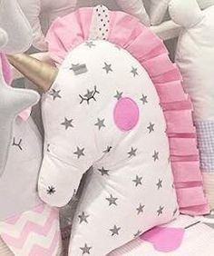 almofada unicornio
