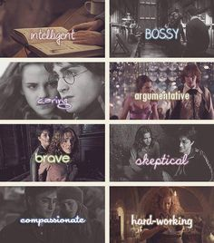 The Qualities of Hermione! Again, accurate.