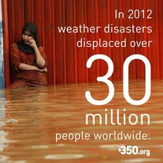 Climate Change. How many people have been displaced in the US over the past few years from hurricanes, tornadoes, floods, droughts, wildfires?