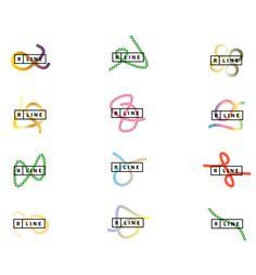 R-Line on Branding Served Museum Branding, City Branding, Logo Branding, Graphic Design Branding, Identity Design, Visual Identity, Corporate Design, Packaging Design Inspiration, Graphic Design Inspiration