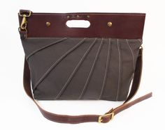 Charcoal Prytania Bag by Michelle Kline