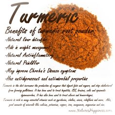 Turmeric is rich in many essential vitamins such as pyridoxine, choline, niacin, riboflavin and more.