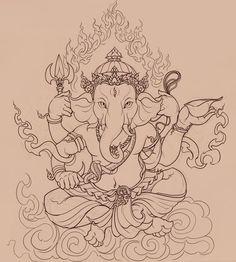 Ganesha by ~PinGponG83 on deviantART