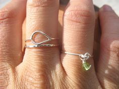 Sterling Silver Come Together Round Stacking Ring   Wear It Jewelry