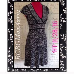 Bcbgmaxazria Petites Midi Dress