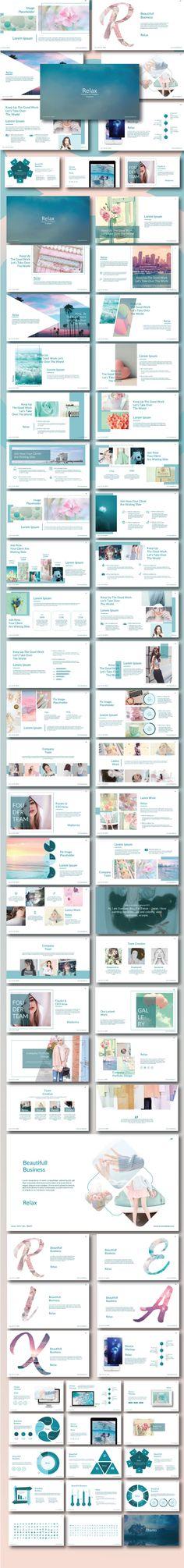 Relax - Creative Modern Template - Business PowerPoint Templates