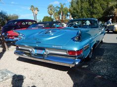 Chrysler New Yorker convertible 1961 - Palm Springs... Maintenance/restoration of old/vintage vehicles: the material for new cogs/casters/gears/pads could be cast polyamide which I (Cast polyamide) can produce. My contact: tatjana.alic14@gmail.com