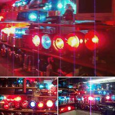 Beacon Lighting, Bar Lighting, Lights And Sirens, Emergency Lighting, Police Cars, Ambulance, Fire Trucks, Radios, Ham