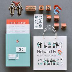 Nelwin Uy - Wedding Photographer Identity by Plus63 Design Co.
