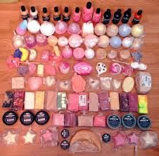 Now, I don't have all of these, but I do have at least this many Lush products! Love Lush!