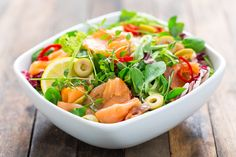 Insalate? Meglio light: 5 ricette semplici e veloci