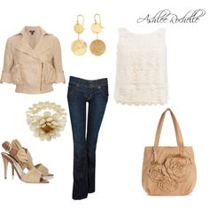 Neutrals, created by ashlee470 on Polyvore