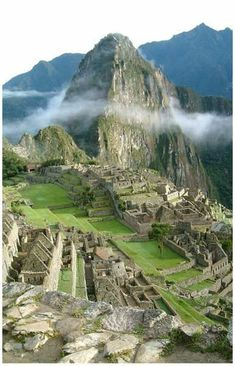 A great poster of the Ancient Inca ruins at Machu Picchu, mysteriously hidden away high in the Andes Mountains of Peru in South America! Ships fast. 11x17 inches. Need Poster Mounts..? #ancientarchitecture