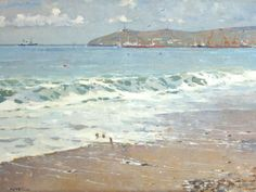 """Evgeny Chuprun's """"Pheodosia"""" Reflective Surfaces: Top 10 Tips for Painting Water"""