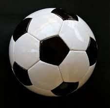 soccer ball black and white - Google Search