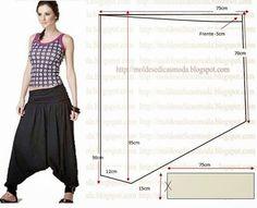 Ideas para el hogar: 6 Modelos de babuchas con moldes de costuras