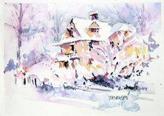 1000+ images about Christmas Card 2014 on Pinterest | Watercolor christmas, Watercolors and ...