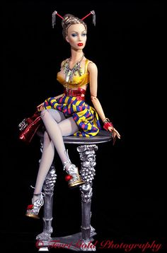 Collecting Fashion Dolls by Terri Gold: Sybarite GenX Dalston