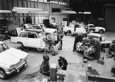 Triumph Vitesse and Triumph TR4 1962