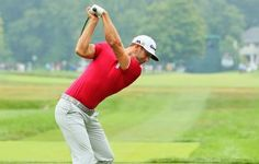 Dustin Johnson Dustin Johnson, Golfers, Champion, Running, Sports, Hs Sports, Keep Running, Why I Run, Sport