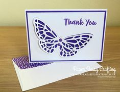 Springtime Impressions dies Stampin' Up! Paper Daisy, Mary Fish, Butterfly Cards, Beautiful Butterflies, Thank You Gifts, Spring Time, Stampin Up, Card Ideas, Birthday Cards