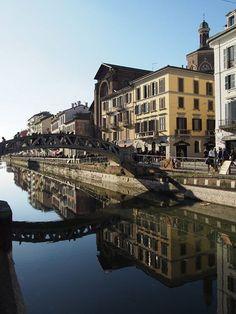 Il nostro meraviglioso Naviglio Grande. Foto di Renato Fantoni #milanodavedere Milano da Vedere
