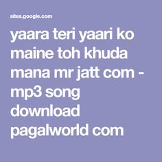 46 Best mp3 song in pagalworld images | Mp3 song, Mp3, Mp3 song download