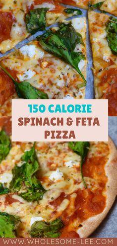 Healthy Low Calorie Dinner, Low Calorie Pizza, Healthy Low Calorie Meals, No Calorie Foods, Low Calorie Recipes, Easy Low Calorie Dinners, Low Calorie Desserts, Healthy Pizza Recipes, Lunch Recipes