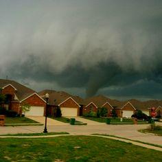 Tornado in Forney, Tx