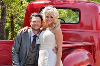 Today we have a treat for you guys! I'm a big fan of music (lots of types of music) and I know how important music is to your wedding day. So, today is all about music – with a wedding of two of country's most popular musicians and a song by Blake that I think...