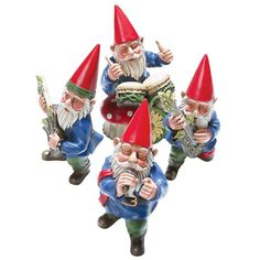 Mrs Gnome Patriotic Garden Statues Whimsical Yard Lawn Flower Bed Sculpture  Accent Americana Decoration | Gnomes, Gnomes, U0026 More Gnomes | Pinterest ...