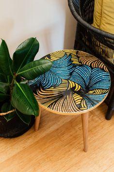 African Design, Repurposed, Decorative Bowls, Wax, Tables, Fabric, Home Decor, Deco, Mesas