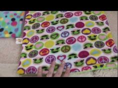 How to make a guinea pig cage liner (without sewing) - YouTube