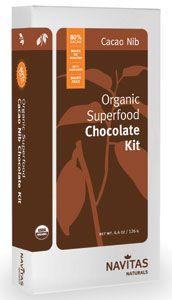 Navitas Naturals' Organic Super-food Chocolate kit