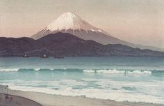 Hiroshi Yoshida (吉田博) (1876–1950, Japan)  Mountains  Hiroshi Yoshida was a 20th century Japanese painter and print-maker. He is regarded as one of the greatest artists of the shin-hanga style of ukiyo-e...