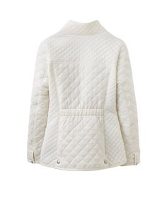 Joules U Newdale Quilted Jacket in Cream - Anna Davies