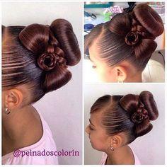 ===FELIZ AÑO NUEVO===  Te recomendamos este peinado para esta fecha tan especial.  Cll 7N # 9E-04 Santa Lucía  Av. Libertadores Edif. Torres del Parque #Cucuta #cucutaeslomio #cucutacity #cucutain Little Girl Hairstyles, Up Hairstyles, Braided Hairstyles, Wedding Hairstyles, Competition Hair, Girl Hair Dos, Ballroom Hair, Biracial Hair, Toddler Hair